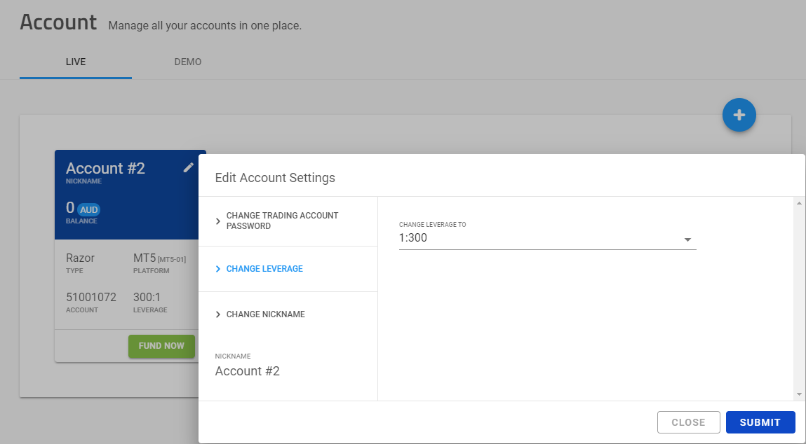 How to edit your account settings in your secure client area